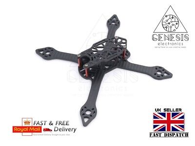 Thor 210V2 205mm X Structure 5mm Arm Carbon Fiber FPV Racing drone Frame