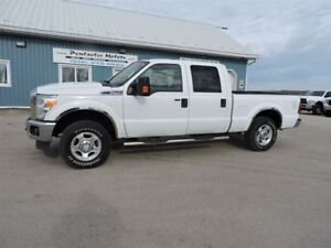 2012 Ford F-250 XLT, Crew,4X4,6.2 L, Well Oiled, Local Trade In