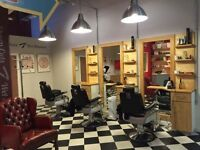 Experienced barber required at JR's Gentlemen's Barbershop in the Merrion Centre