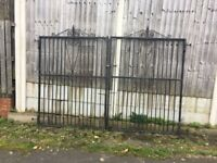 Well Built 10ft Wide / 7ft Tall Driveway Gates / Security Gates -- Can Deliver