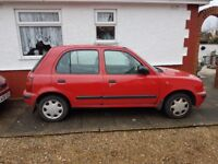 Nissan micra for parts or sell whole