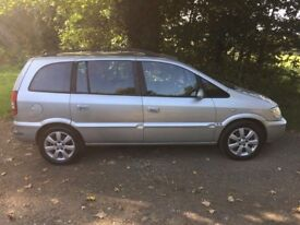 -7 Seater- 2005 Vauxhall Zafira 1.6 Breeze MOT September 2018, Service History