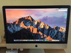 """IMac 27 """" Retina 5K I5 excellent condition 4 months old with receipts"""
