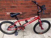 20 inch BMX bike, hardly used, excellent condition £60