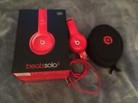 Beats solo 2, Red only 1 month old