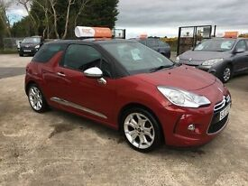 2011 Citroen DS3 1.6 HDI Diesel **FINANCE AND WARRANTY** (mini,beetle,golf,clio)