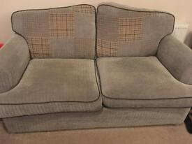 Completely sprung double sofabed