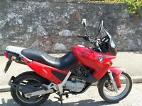 1995 BMW F650 , RED MOTORCYCLE GOOD CONDITION