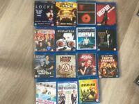 DVD and Blu Ray Job Lot..... over 90!!!