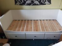 IKEA Hemnes 3 in one bed (Sofa, single bed, opens out to double bed)