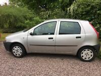 Fiat Punto 1.2 02 plate