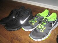 3 pairs of size 9 mens trainers