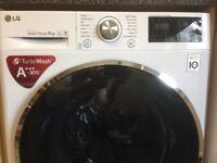 LG FH4U2VCN2 9kg Direct Drive TurboWash Washing Machine A+++ Energy Rating