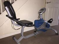 Carl Lewis recumben exercise bike Can deliver