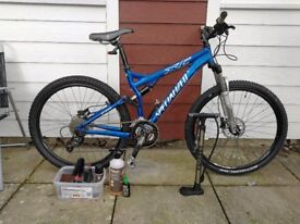 Specialised Fsr Xc 2008 mountain bike