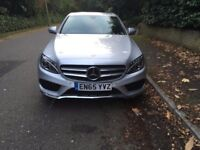 MERCEDES C250D BLUETEC AMG LINE AUTOMATIC IN BRIGHT SILVER