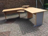 Germanic Office corner desk / 5 piece