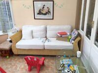 Lovely Rattan sofa