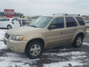 2007 Ford Escape Limited - AWD - LEATHER - ROOF