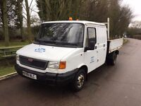 LDV TIPPER TRUCK DOUBLE CAB FORD TRANSIT ENGINE AND RUNNING GEAR
