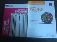 SQA Nat 5 Course and practice papers £10