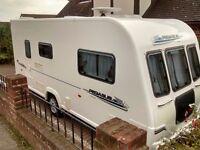 Bailey Pegasus Touring caravan, 2 berth, 2011 model, in good condition, annual maintenance.