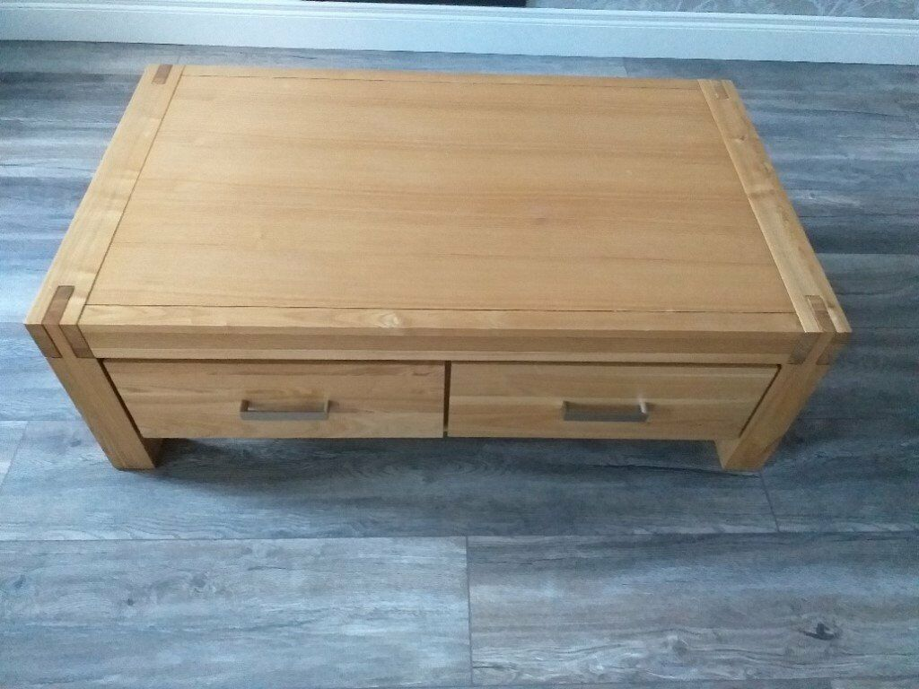 Marvelous Creations Light Oak Coffee Table 47Long X 27 1 2 Wide X 12 High In Carrickfergus County Antrim Gumtree Andrewgaddart Wooden Chair Designs For Living Room Andrewgaddartcom