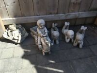 Garden ornaments bundle