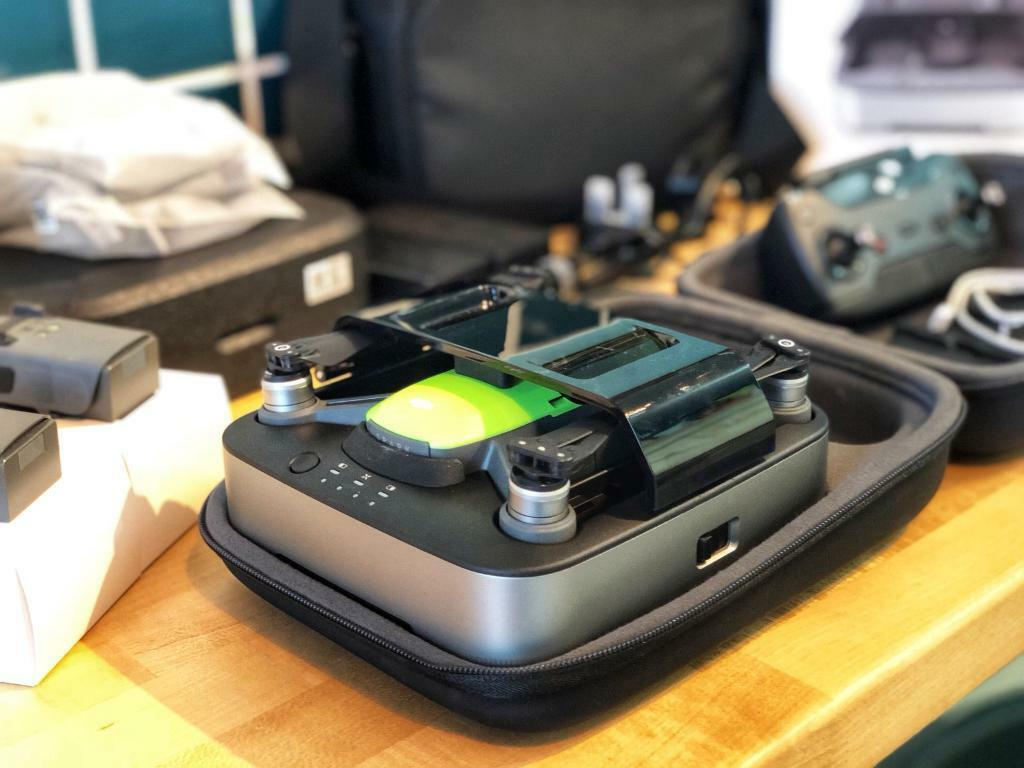 Dji Spark Meadow Green Fly More Combo Portable Power Pack Bag