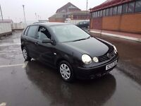 FOR SALE 2004 BLACK MANUAL POLO ONLY £575