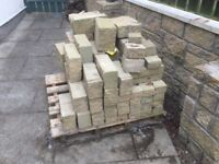 Building blocks - approx 3.5 sq m