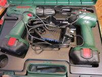Bosch combi drill torch set