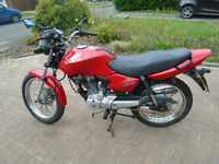 2005 HONDA CG125 NEW MOT WELL SERVICED IDEAL LEARNER / COMMUTER CHESHIRE