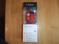 Fitbit Charge HR Wireless Activity Wristband Tangerine Large FB405TAL