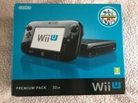 Nintendo WiiU 32GB & Game