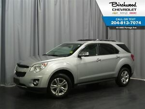 2013 Chevrolet Equinox LTZ AWD   Sunroof   Leather   Safety Pack