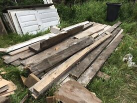 FREE TIMBER/WOOD (Roof and Floor)