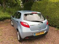 Mazda 2 TS 1.3L Petrol in Ice Blue