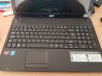 FAST GOOD SPEC ACER 15.6 WIDESCREEN LAPTOP 6 GIG MEM 640 GIG HDD WIN10 FULL OFFICE PACKAGE REFURBED