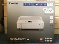 Canon Pixma MG6851 white