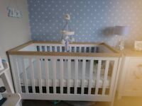 Mothercare cotbed Lulworth range