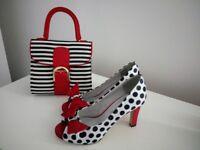 Tamaris shoes and ruby shoes handbag