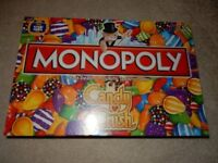 Candy Crush Monopoly - Brand New, Cellophane wrapped sealed box