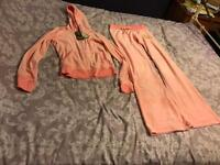 Ladies older girls juicy couture tracksuit size med 38 fits size 8-10