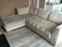 Beautiful corner sofa for sale - urgent collection required