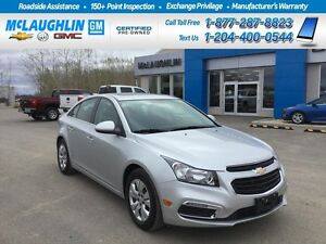 2016 Chevrolet Cruze Limited LT *Sunroof *Remote Start *Touch Sc