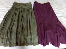 Assorted ladies skirts. PRICE IS FOR EACH ITEM.