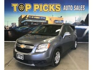 2014 Chevrolet Orlando Alloy Wheels, Clean Carproof & Certified!