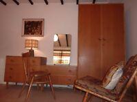 Mid-Century Meredew Bedroom Suite Retro Vintage (Free Delivery?)