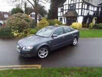 Audi A4 2.0, Full Years MOT, Immaculate Luxury Black Leather interior. 2005 Model